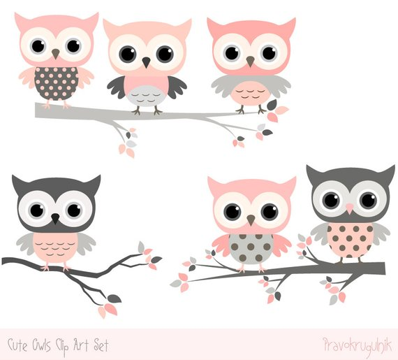 Baby shower owl images. Owls clipart kawaii