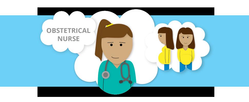 Specialties guide degree obstetrical. Nursing clipart community nurse