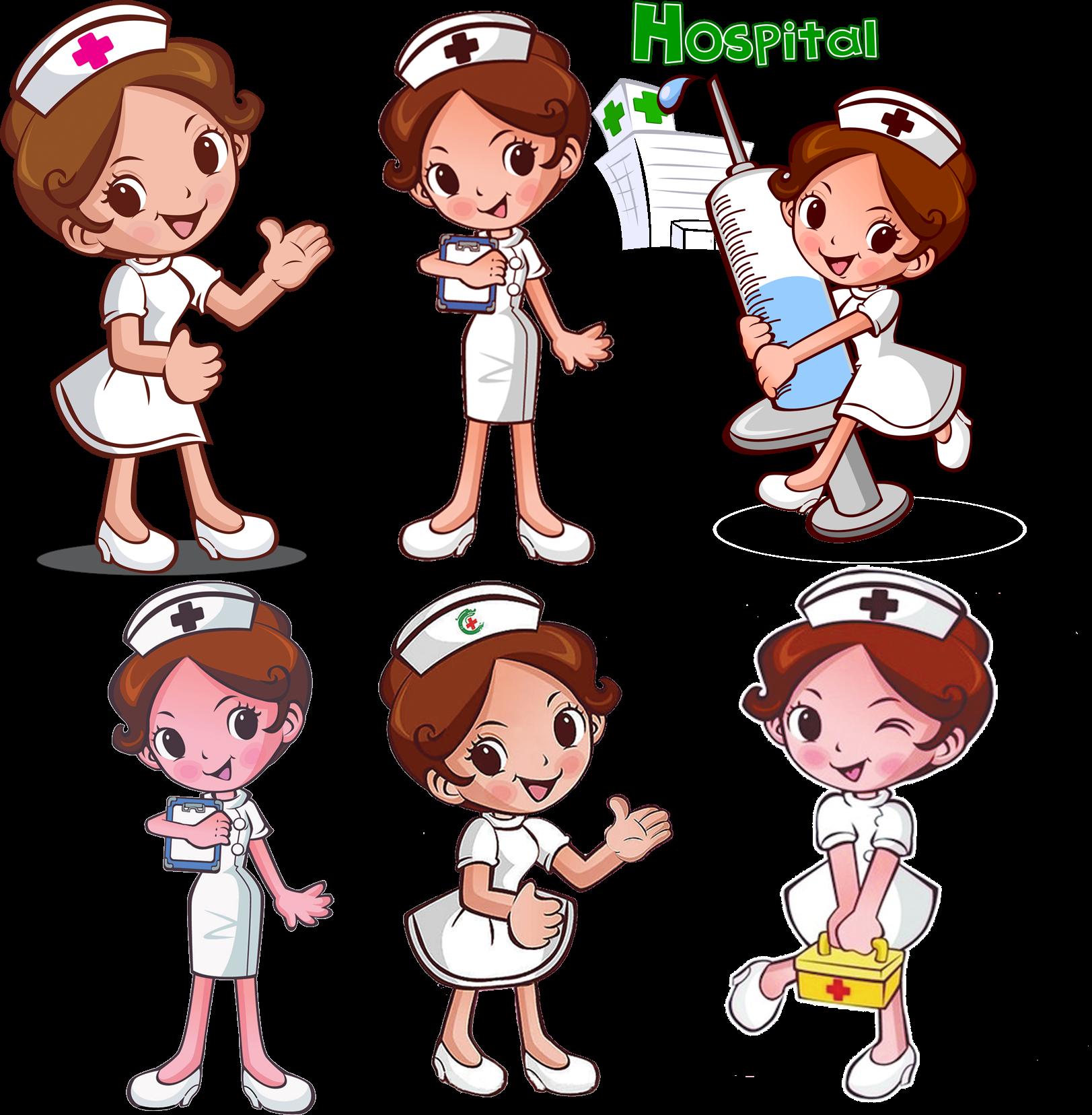 Nursing clipart head nurse. Download transprent png free