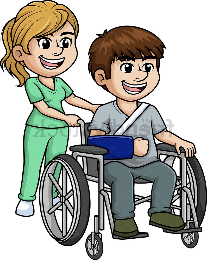Nursing clipart nurse patient. Best free with clip