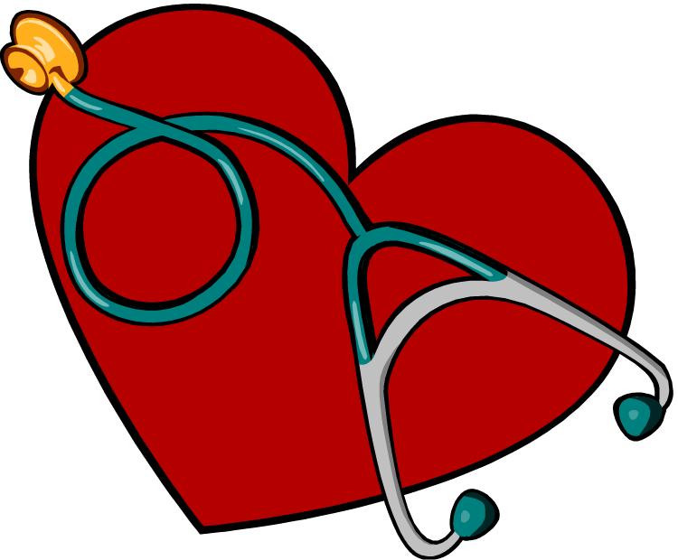 Nurse free medical clip. Clipart heart home