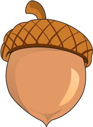 Nut station . Acorn clipart pile