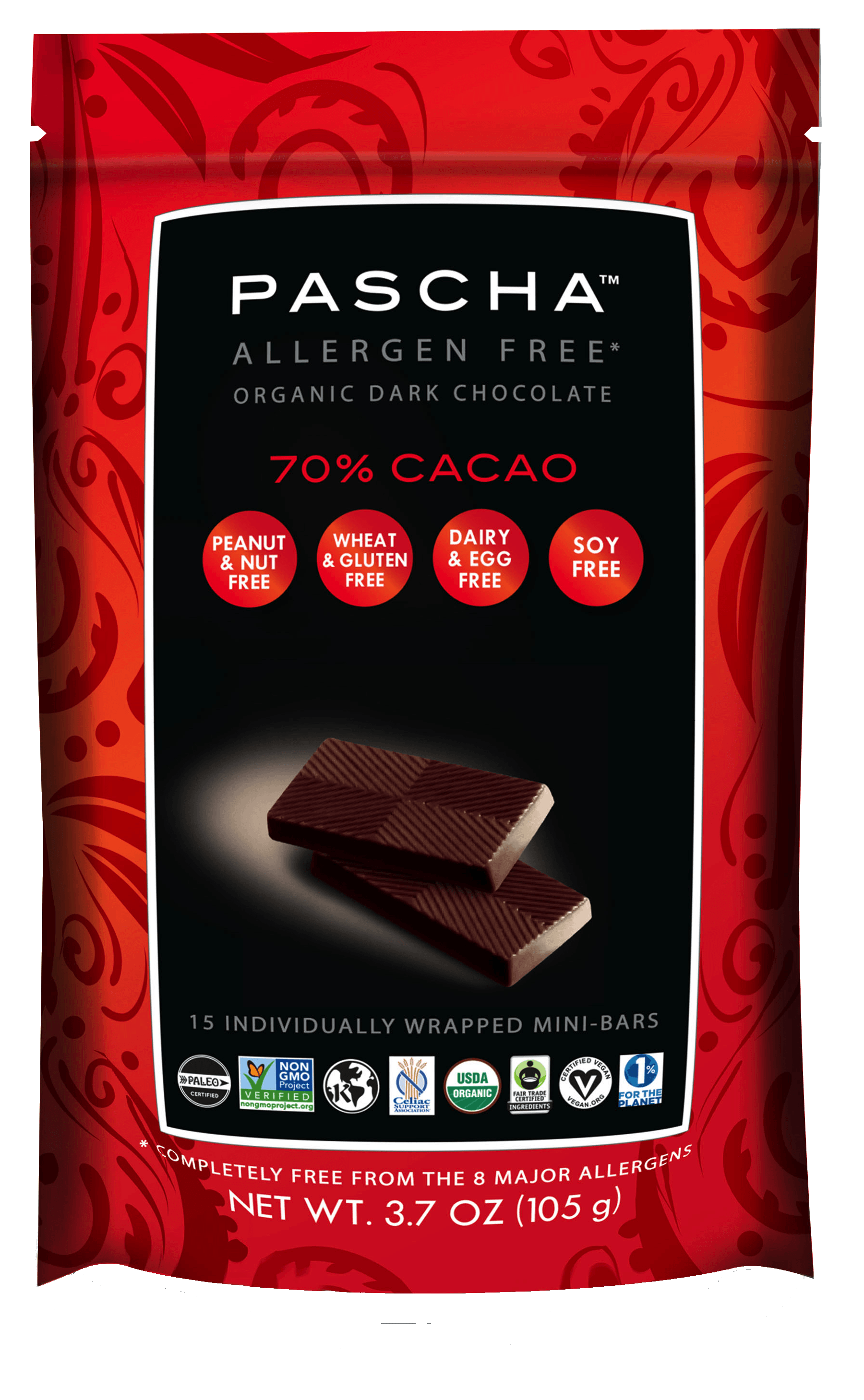 Mini bars pascha chocolate. Nut clipart bag peanut