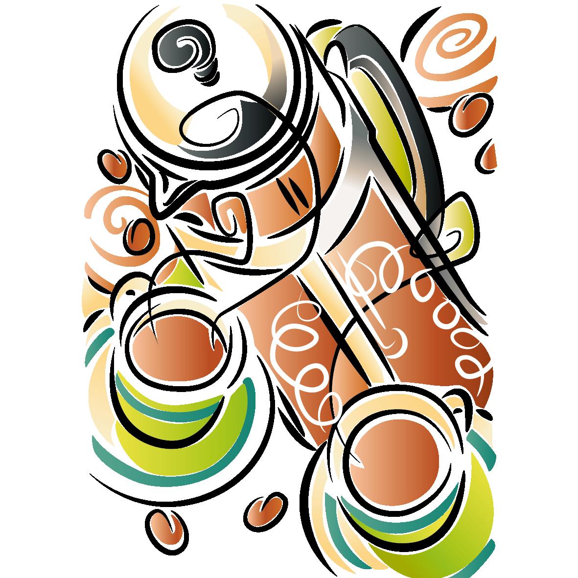 Nut clipart bean. Coffee clip art creative