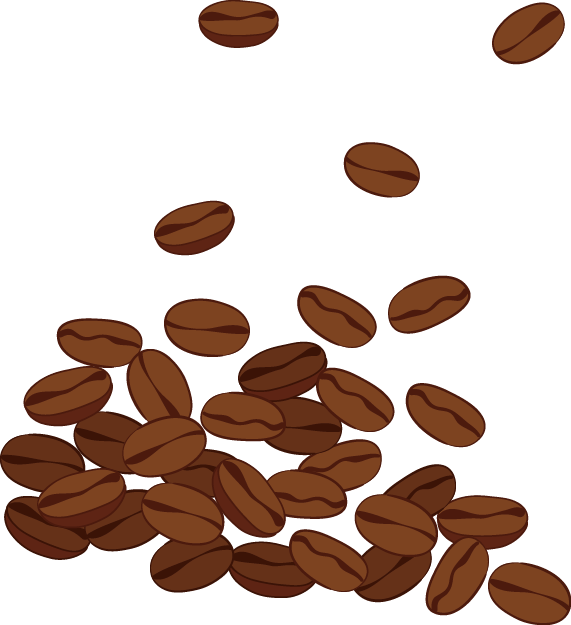 Nuts clipart different seed. Coffee bean clip art