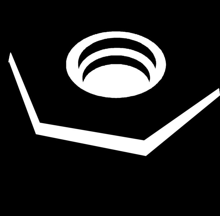 Lock vector image illustration. Nut clipart bolt tool
