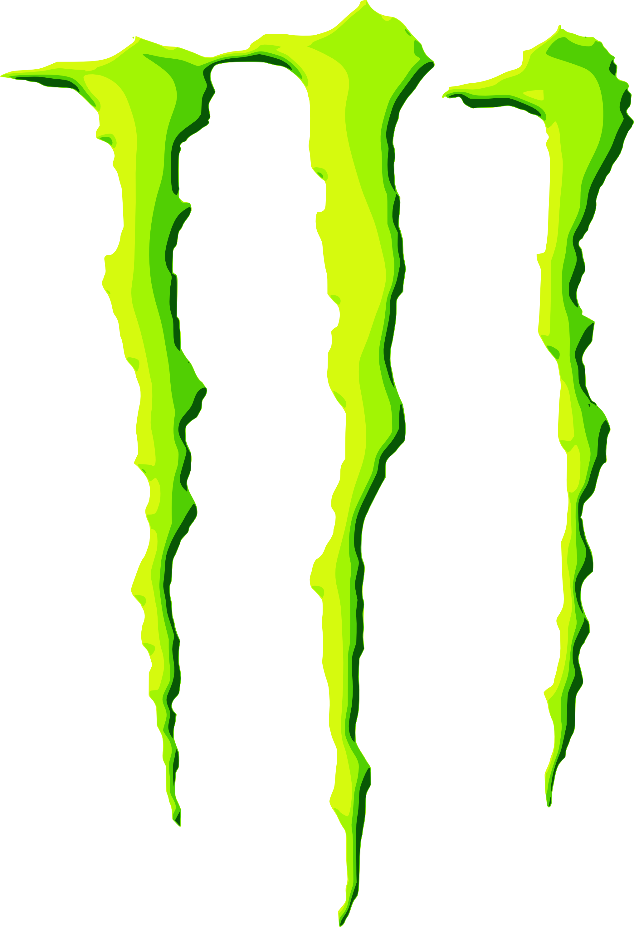 Nut clipart energy. Monster drink decal sticker