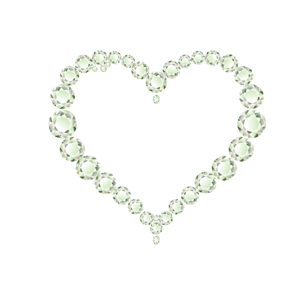 Picture frames clip art. Pearl clipart heart shaped