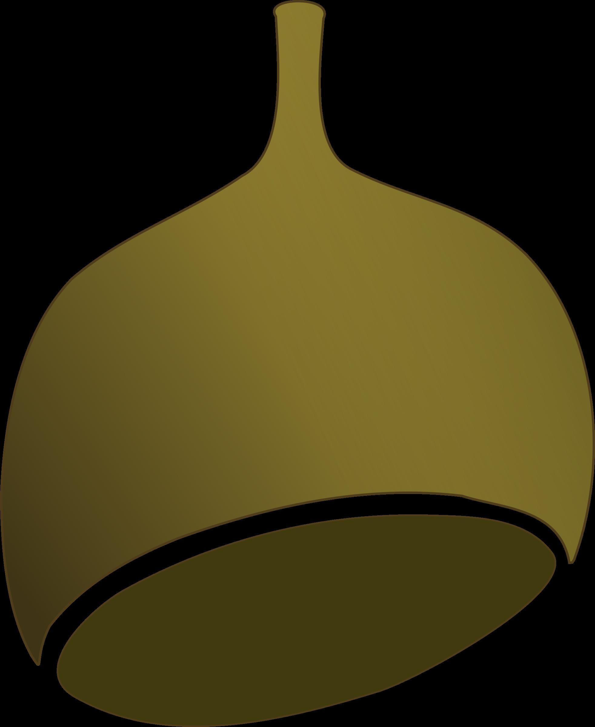 Gumnut shaded big image. Nut clipart pea