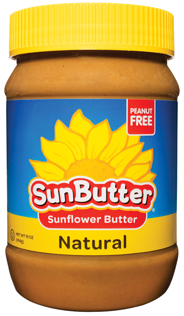 Our tree free sunflower. Nut clipart peanut butter