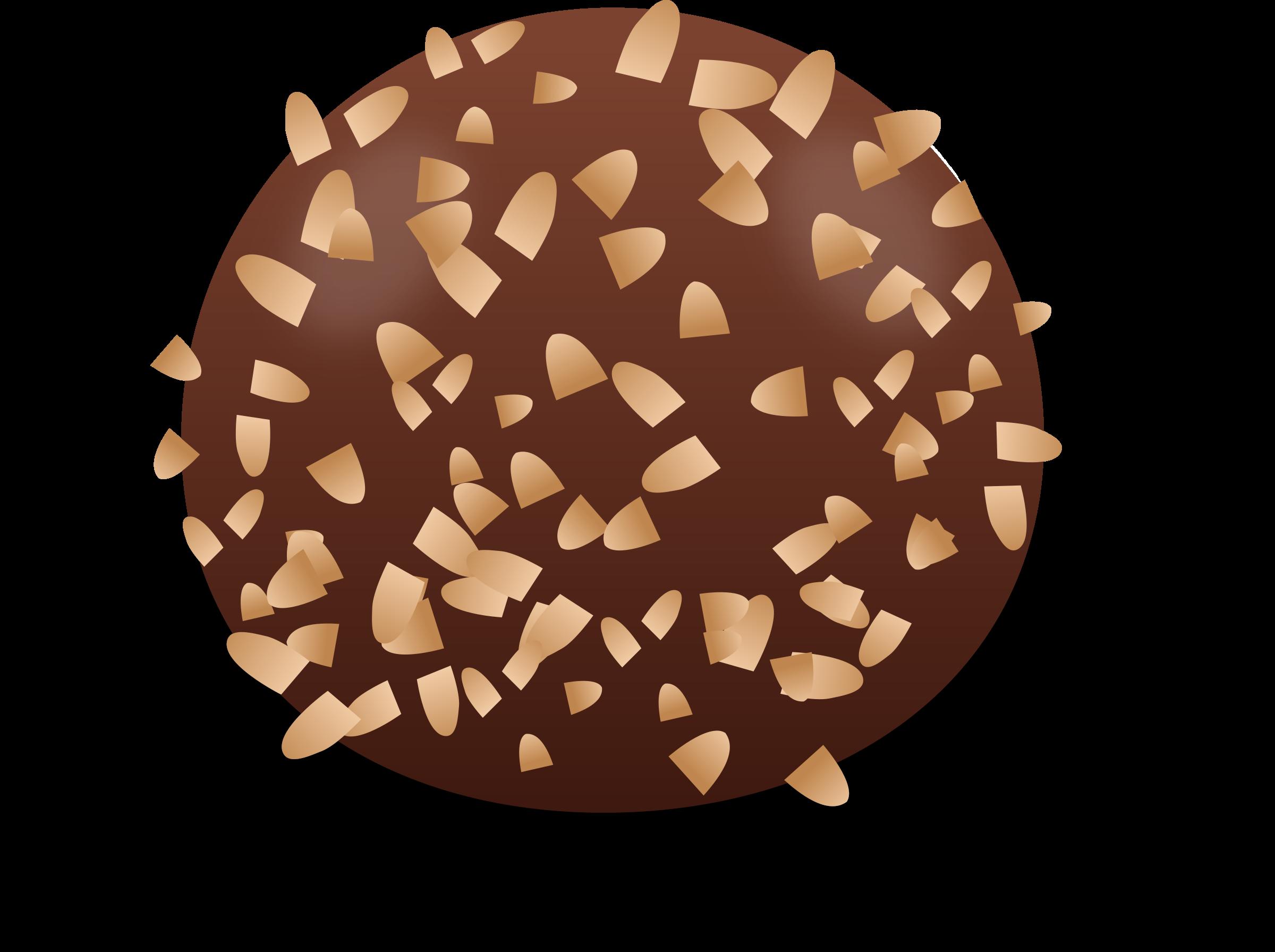Nut clipart pecan nut. Praline big image png