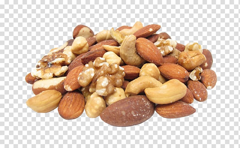 Of assorted nut roast. Nuts clipart pile