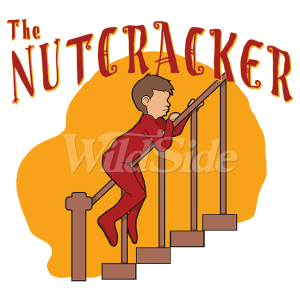 The wild side. Nutcracker clipart holiday