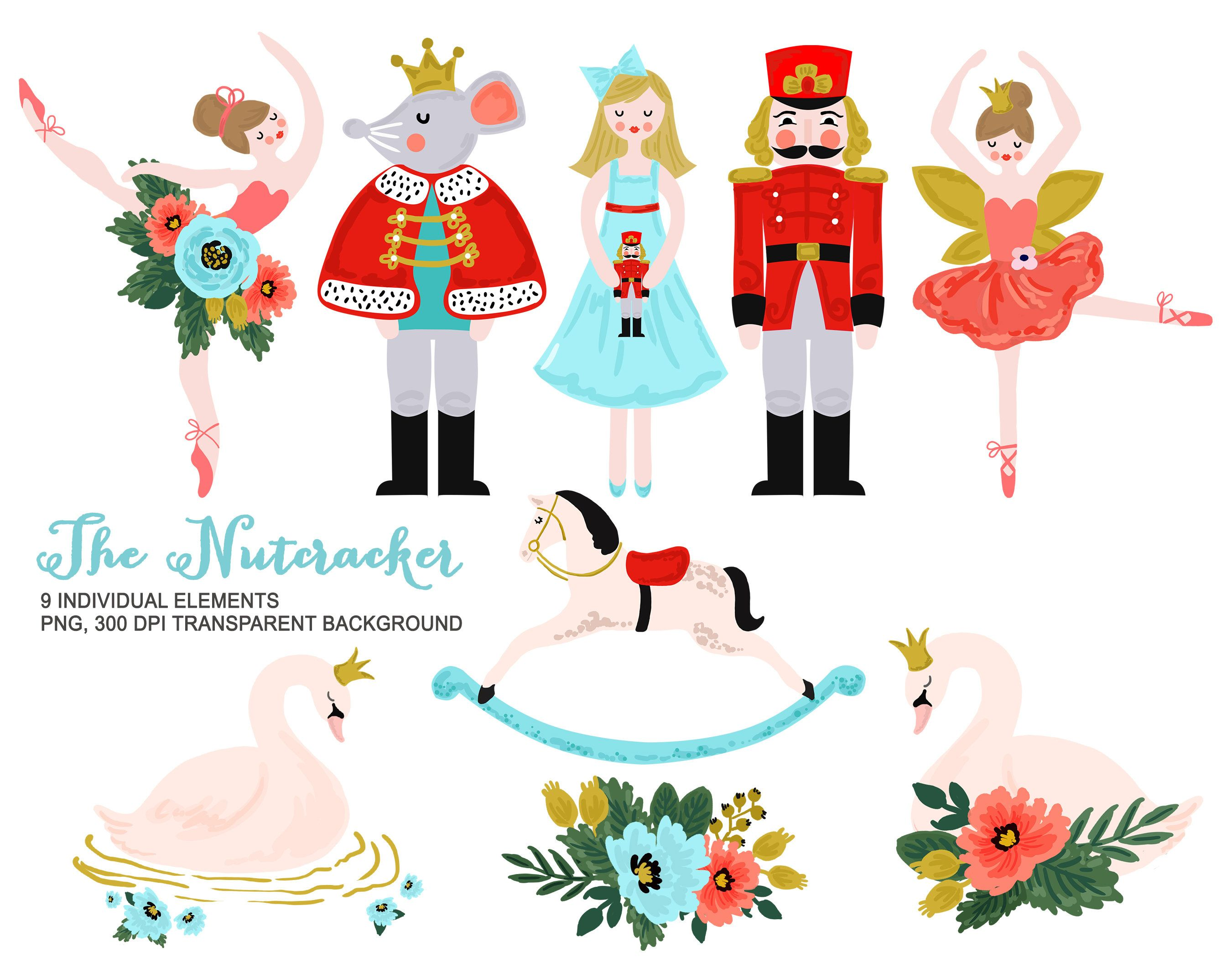 Nutcracker clipart modern, Nutcracker modern Transparent ...