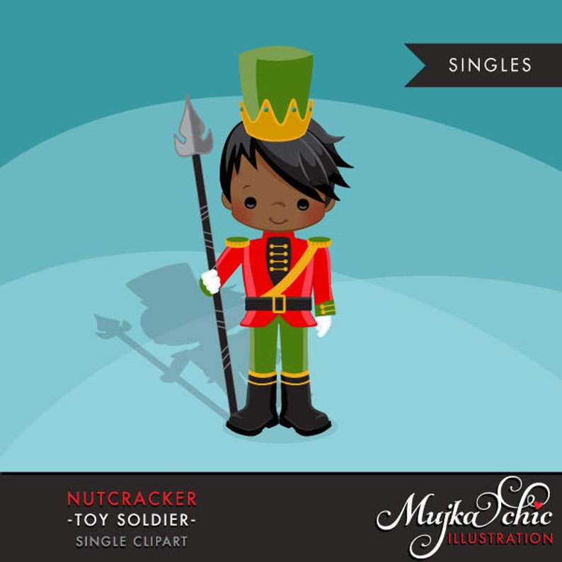 Nutcracker clipart nutcracker character. Christmas graphics toy soldier