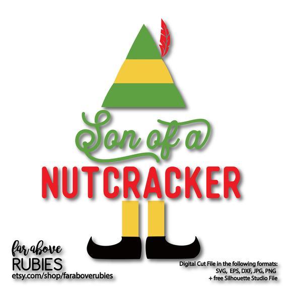 Nutcracker clipart son. Of a elf svg