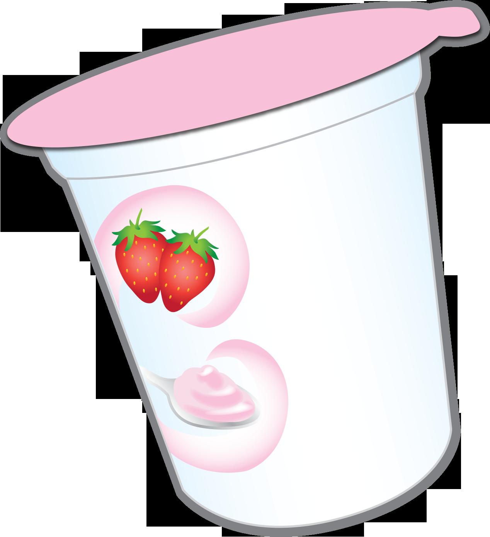 Yogurt clipart yogurt container. Nutrition facts label cup