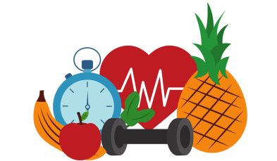 Nutrition clipart physical wellness. On display health and