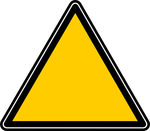 Nutrition clipart triangle. Roadsign clip art at