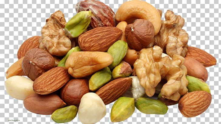 Nutrient seed food almond. Nuts clipart pile