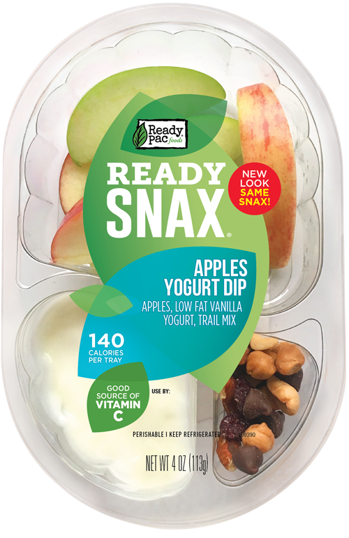 Apples and trail mix. Yogurt clipart calcium food