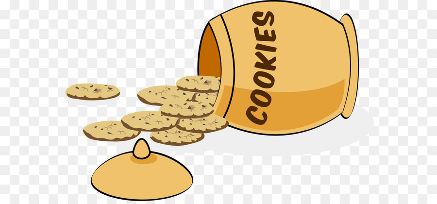 Chocolate chip cookie cake. Oatmeal clipart