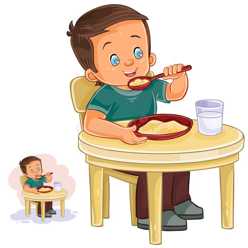 Oatmeal clipart. Healthy breakfast frames illustrations