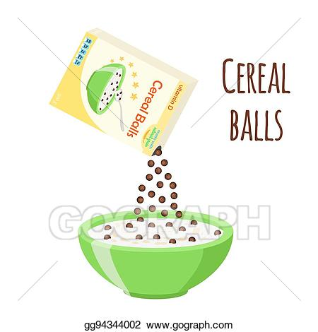 Cereal clipart morning breakfast. Clip art vector chocolate