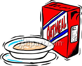And image com . Oatmeal clipart bowl oatmeal
