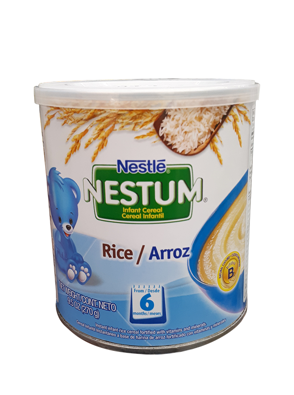 Nestum infant stage rice. Oatmeal clipart cereal milk