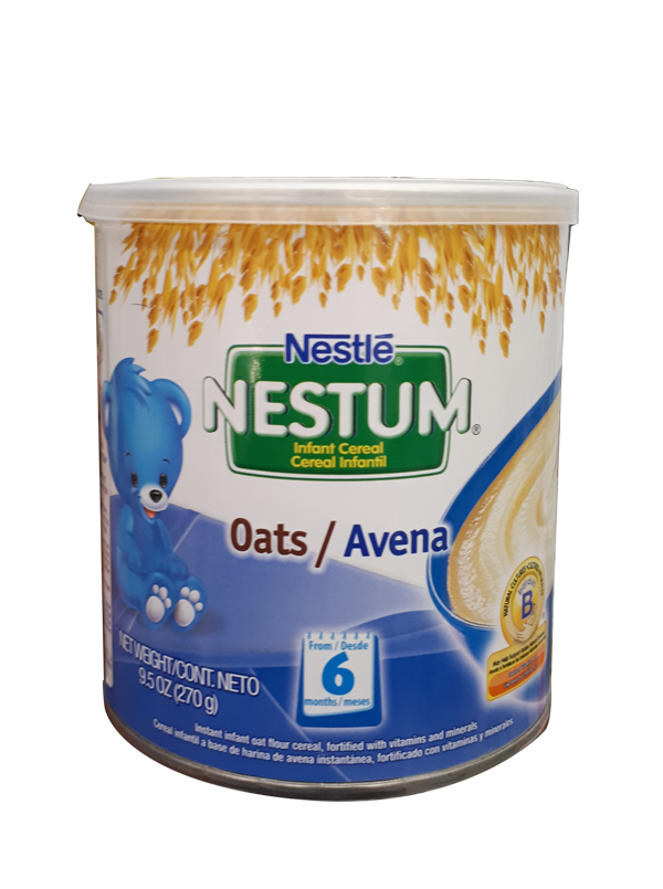 Nestum infant stage oats. Oatmeal clipart cereal milk