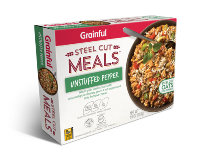 Grainful gluten free frozen. Oatmeal clipart cereal milk