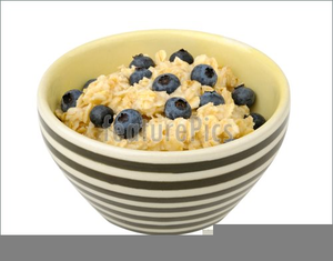 Oatmeal clipart oat meal. Free images at clker