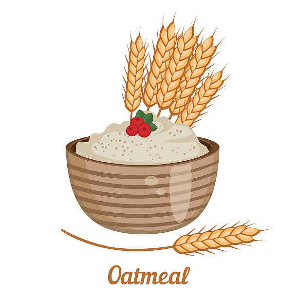 Station . Oatmeal clipart oat meal