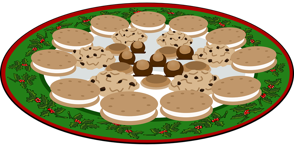 Planning clipart planning meeting. Plate of cookies beautiful