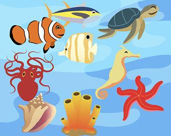 Jokingart com sea life. Ocean clipart