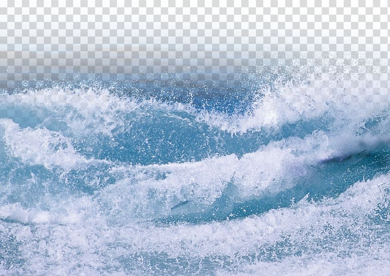 Ocean clipart calm wave. Blue waves during daytime