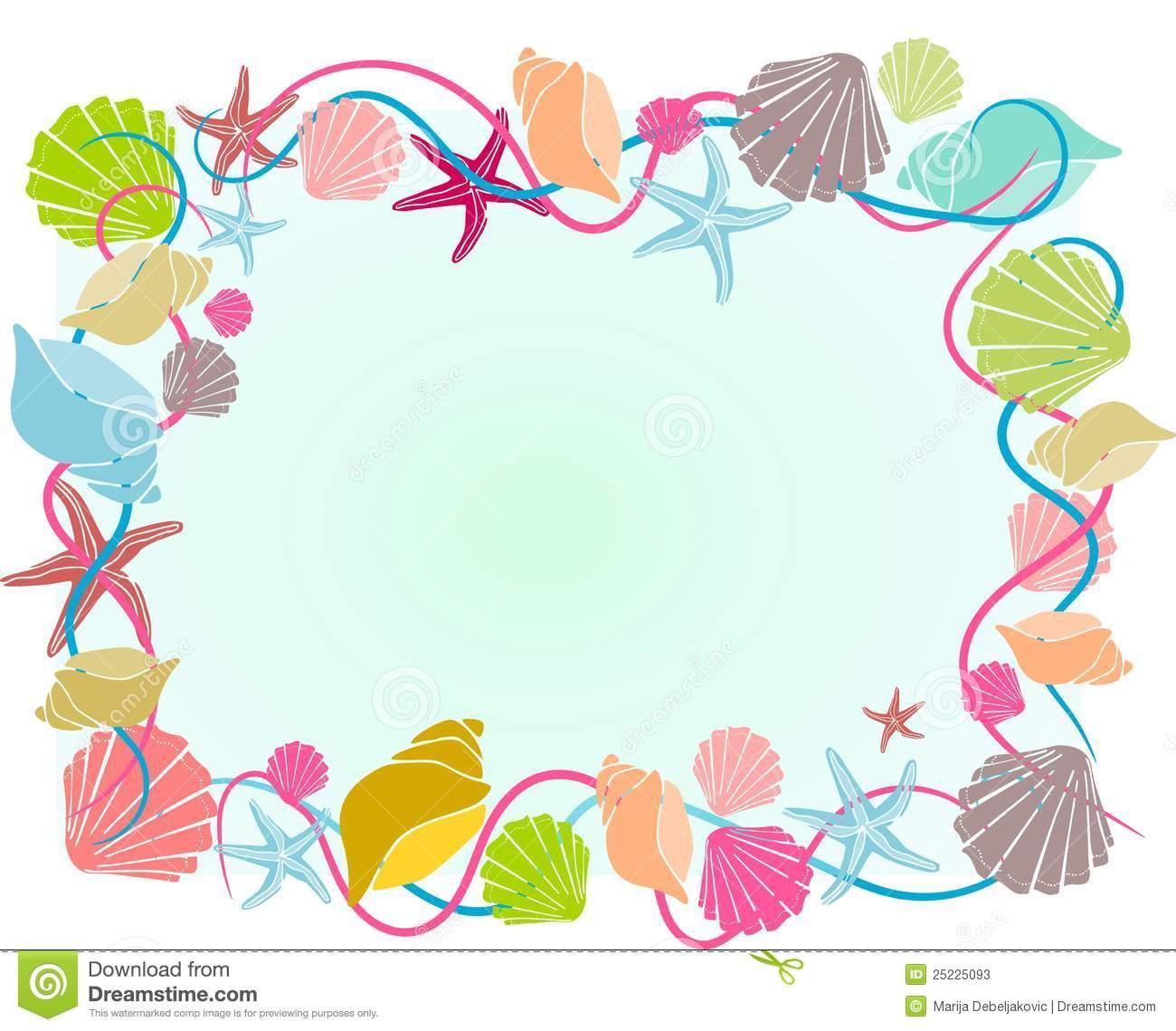 Ocean clipart frame. Border free download best