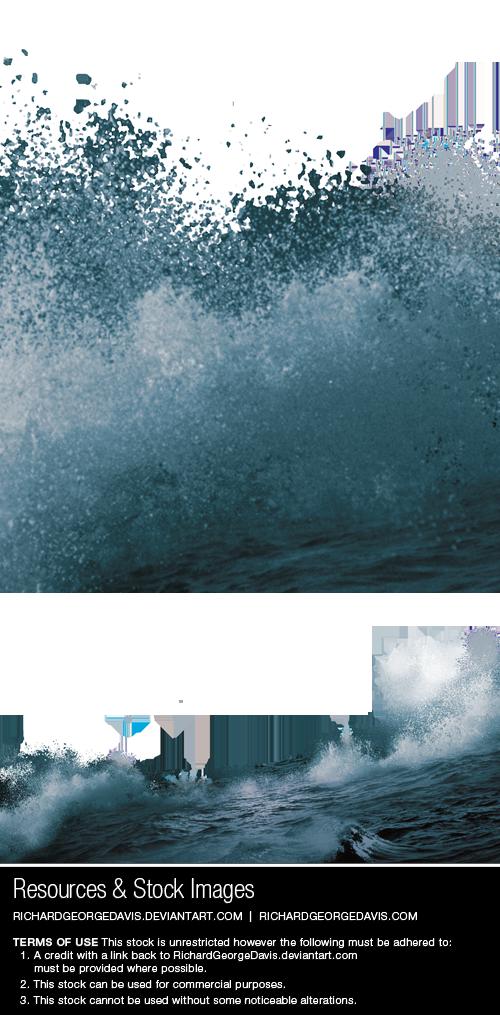 Waves png psd by. Ocean clipart ocean water