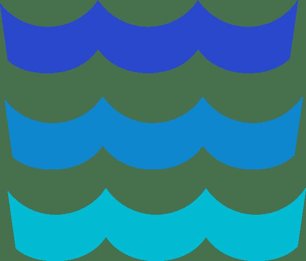 Ocean clipart wavy. Wave pattern clip art