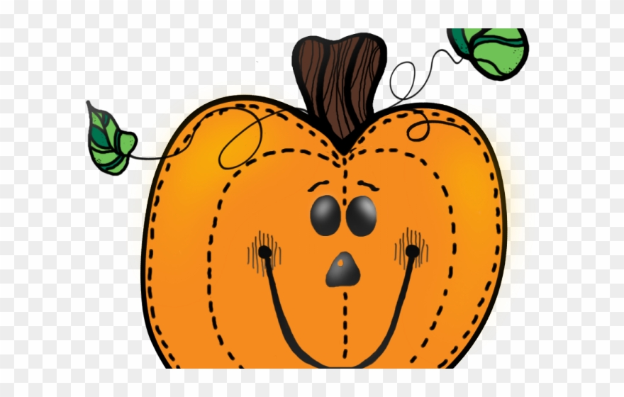 October clipart cute. Pumpkin transparent background