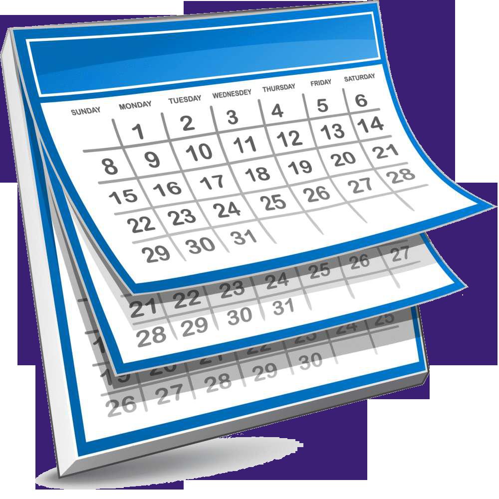 October newsletter st mary. Calendar clipart