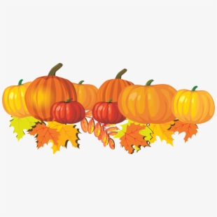 Cropped clip art image. October clipart pumpkin