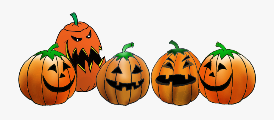 Pumpkin clipart row.  collection of jack
