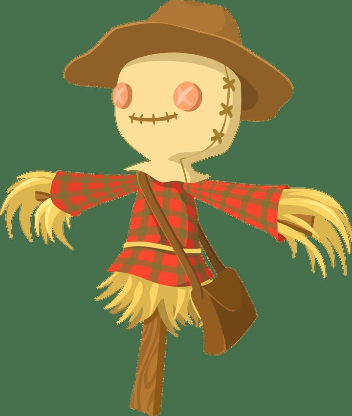 Cartoon pictures secondtofirst com. Scarecrow clipart scarecrow hat