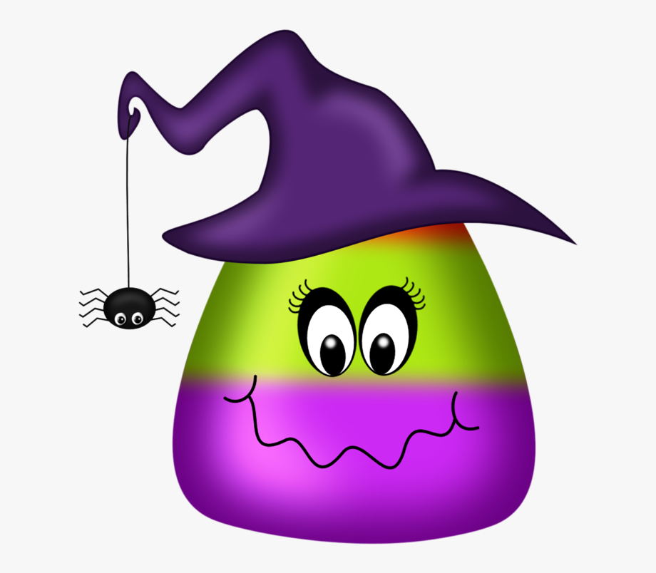 Cute october clip art. Witch clipart candy corn