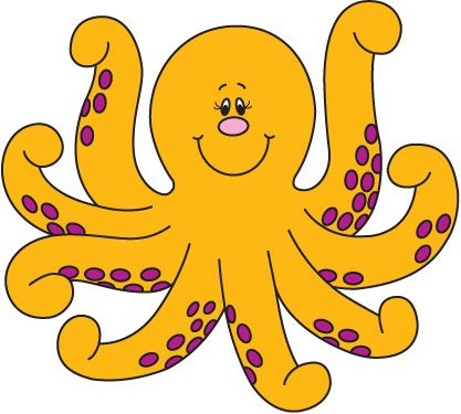 Free google search education. Clipart octopus yellow