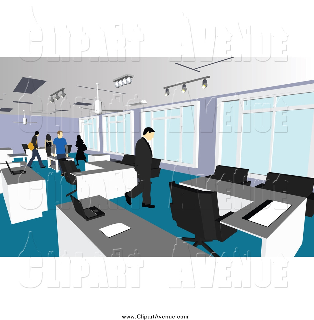 Office clipart.  collection of hallway