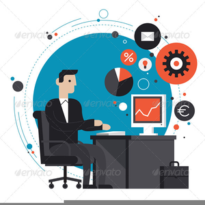 Office clipart. Not working free images