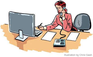 Office . Job clipart